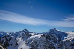 La mayoría del landsacpe hermoso de la nieve Fotografía de archivo libre de regalías