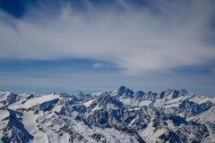 La mayoría del landsacpe hermoso de la nieve Imagenes de archivo