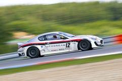 LA MAZZA di Francesco nell'azione alla FIA WTCC Maserati Fotografia Stock Libera da Diritti