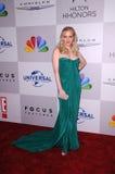 La McLendon-Compagnie de Wendi au Golden Globes de NBC/Universal/Focus Features Party, Beverly Hilton Hotel, Beverly Hills, CA 01- Image stock