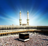 La Meca la Arabia Saudita de Kaaba. fotos de archivo