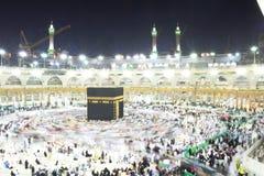 La Meca santa de Kabba Foto de archivo libre de regalías