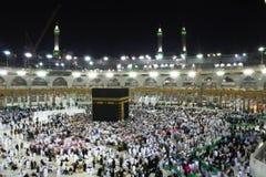 La Meca santa de Kabba Imagen de archivo libre de regalías