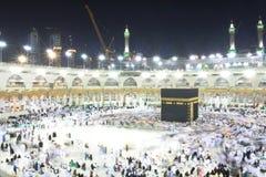 La Meca santa de Kabba Fotos de archivo libres de regalías