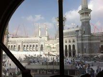 La Mecca in costruzione fotografia stock