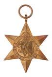1939-1945 la medalla de la Guerra Mundial de la estrella Segundo Imagenes de archivo