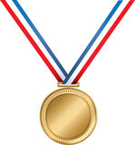 La medalla más grande de los mundos ilustración del vector