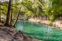 La-media luna Nationaal Park stock afbeeldingen
