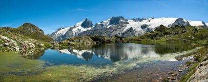 La Meije - alpes francesi Fotografia Stock Libera da Diritti