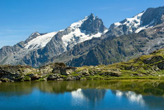 La Meije - französische alpes Lizenzfreie Stockfotografie