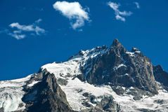 La Meije  - French alpes Royalty Free Stock Photo