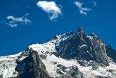 La Meije - French alpes royalty free stock photo