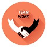 La meilleure affaire Team le travail Image stock