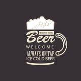 La meilleure bière en ville Images stock