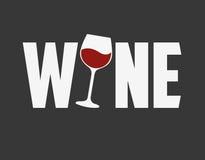 La meilleure conception de vin Photographie stock libre de droits