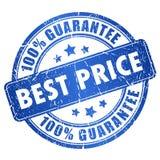 La meilleure garantie des prix Image stock