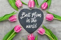 La meilleure maman au monde Image libre de droits