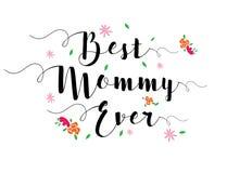 La meilleure maman jamais Images stock