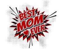 La meilleure maman jamais Photos stock