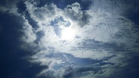 La meilleure photo du ciel naturel Photos stock