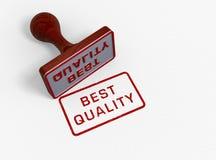 La meilleure qualité - estampille Images stock