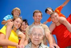 La mejor abuela Fotografía de archivo libre de regalías