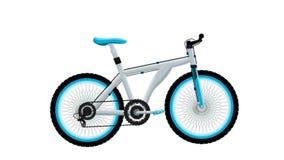 La mejor bici, icono, muestra, el mejor ejemplo 3D stock de ilustración