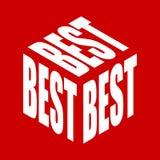 La mejor camiseta simple del lema del texto Vector gr?fico de las frases para el cartel, la etiqueta engomada, la impresi?n de la libre illustration