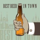 La mejor cerveza Foto de archivo libre de regalías