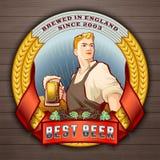 La mejor cerveza 2 Foto de archivo libre de regalías