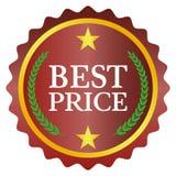 La mejor escritura de la etiqueta de precio Fotografía de archivo libre de regalías