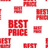 La mejor etiqueta de precio del vector Fotos de archivo