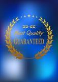 La mejor etiqueta o emblema del producto de calidad Imágenes de archivo libres de regalías