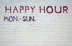 La mejor hora feliz Foto de archivo libre de regalías