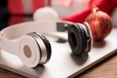 La mejor idea de los regalos de la Navidad Fotos de archivo