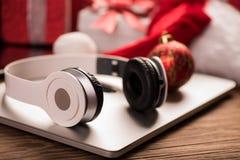 La mejor idea de los regalos de la Navidad Fotografía de archivo