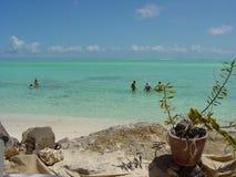 La mejor laguna del mundo: Bora Bora Fotos de archivo libres de regalías
