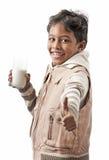 La mejor leche del gusto Fotografía de archivo