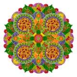 La mejor mandala floral Foto de archivo libre de regalías