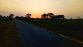 La mejor puesta del sol fotos de archivo