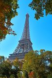 La mejor torre Eiffel de París Francia foto de archivo