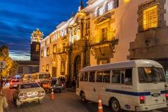La menta nazionale della Bolivia fotografia stock
