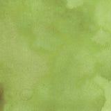 La menta transparente de la textura de la acuarela, azul, verde, verdor sombrea puntos ilustración del vector