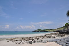 La mer à l'île de Sri Chang, Thaïlande Image stock
