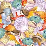La mer écosse le fond Image stock