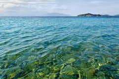 La mer Égée Image libre de droits