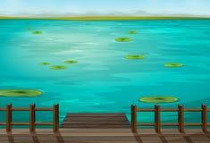 La mer illustration stock