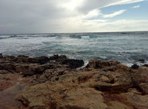 La mer Image libre de droits