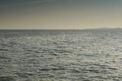 La mer calme Photo libre de droits