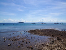 La mer dans Buzios Photos libres de droits